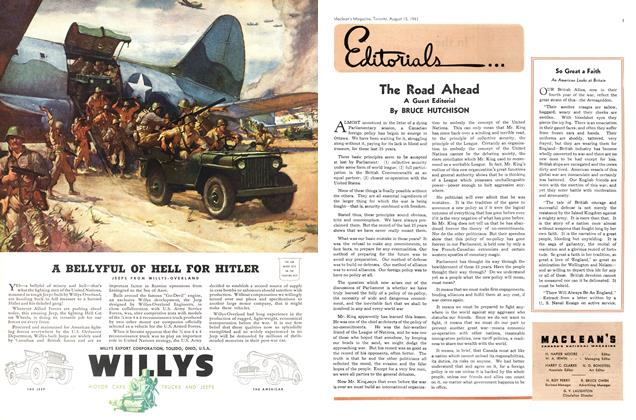 Article Preview: The Road Ahead, August 1943 | Maclean's