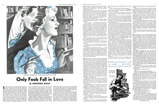 Article Preview: Only Fools Fall in Love, August 1943 | Maclean's