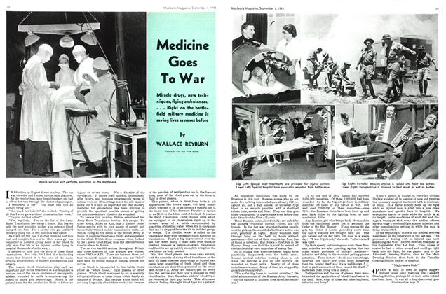 Article Preview: Medicine Goes To War, September 1943 | Maclean's