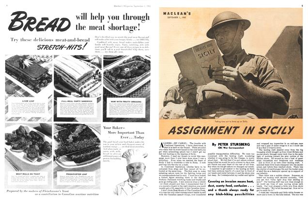 Article Preview: ASSIGNMENT IN SICILY, September 1943 | Maclean's