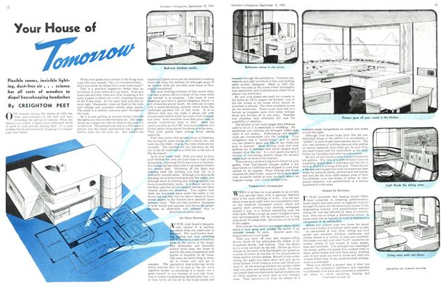 Article Preview: Your House of Tomorrow, September 1943 | Maclean's