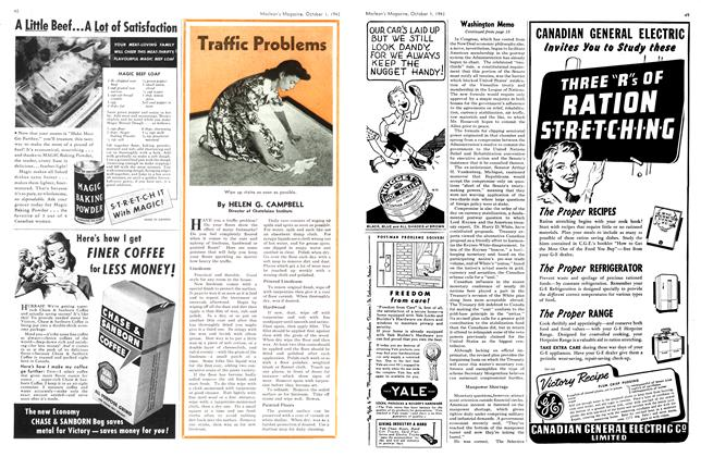 Article Preview: Traffic Problems, October 1943 | Maclean's