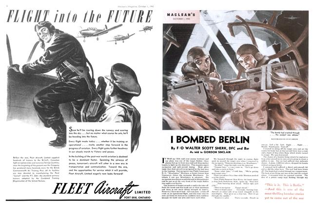 Article Preview: I BOMBED BERLIN, October 1943 | Maclean's