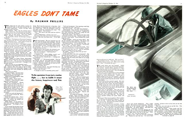Article Preview: EAGLES DON'T TAME, October 1943   Maclean's