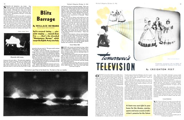 Article Preview: Tomorrow's TELEVISION, October 1943   Maclean's