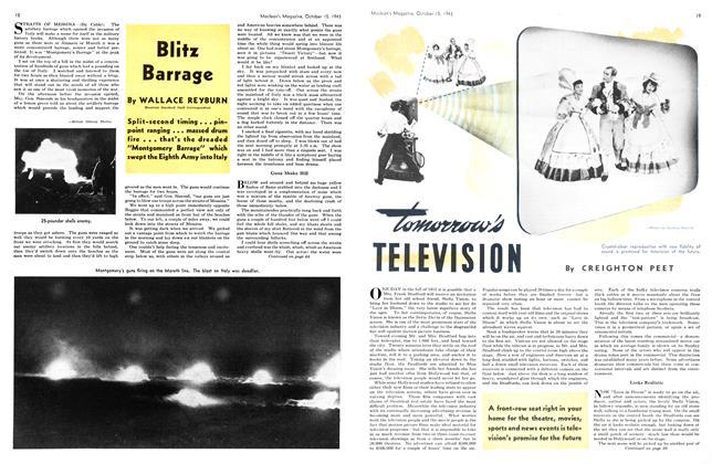 Article Preview: Blitz Barrage, October 1943 | Maclean's