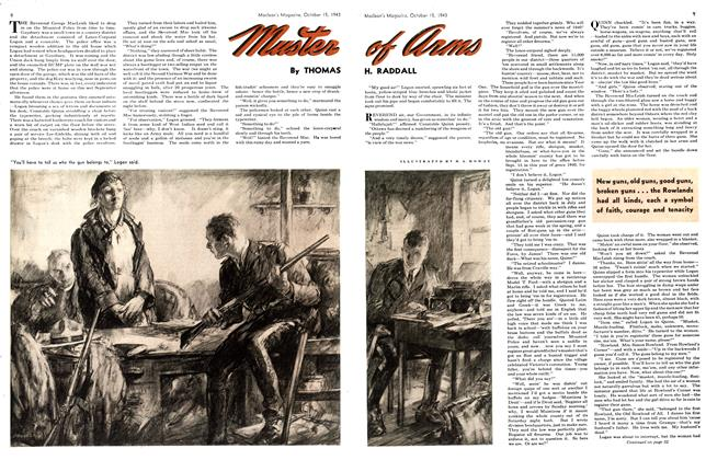 Article Preview: Muster of arms, October 1943 | Maclean's