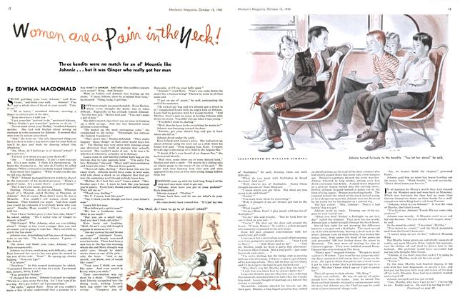 Article Preview: Women are a Pain in the Neck!, October 1943   Maclean's