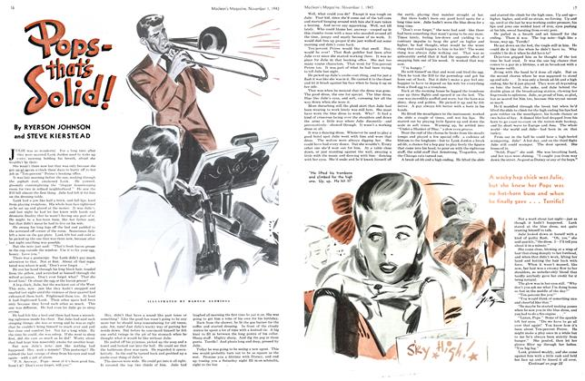 Article Preview: Pops-that's Solid!, November 1943 | Maclean's