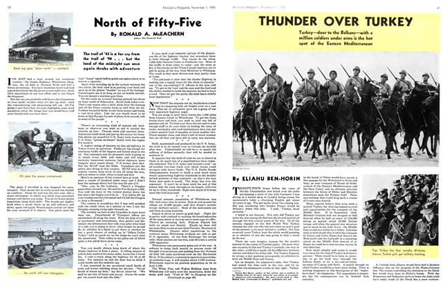 Article Preview: North of Fifty-Five, November 1943 | Maclean's