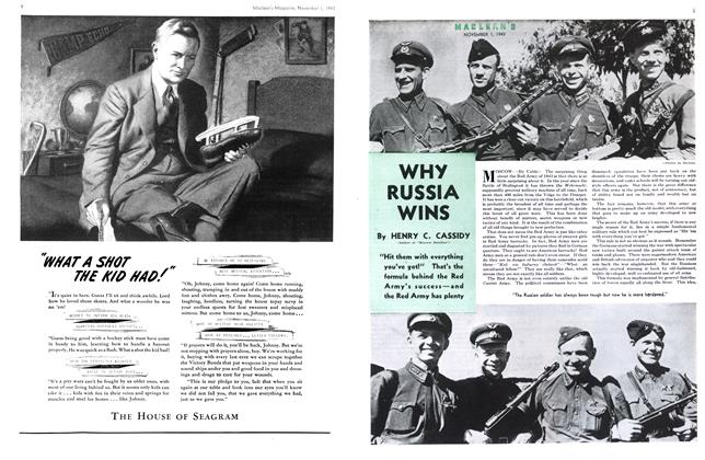 Article Preview: WHY RUSSIA WINS, November 1943 | Maclean's