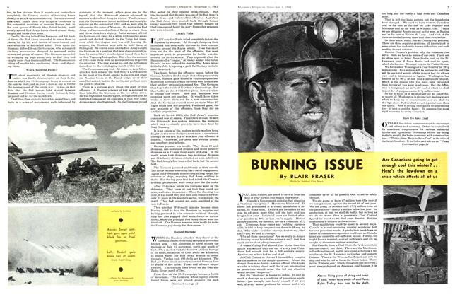 Article Preview: BURNING ISSUE, November 1943 | Maclean's