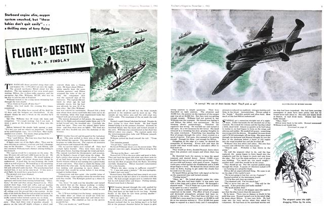 Article Preview: FLIGHT TO DESTINY, November 1943 | Maclean's