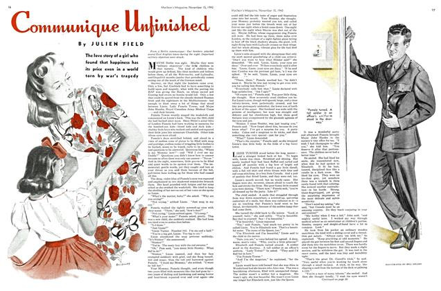 Article Preview: Communique Unfinished, November 1943 | Maclean's