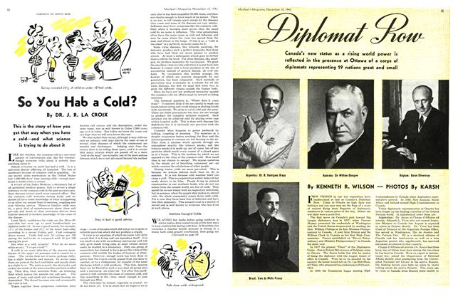Article Preview: Diplomat Row, November 1943 | Maclean's