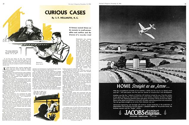 Article Preview: CURIOUS CASES, November 1943 | Maclean's