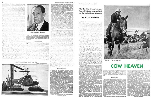 Article Preview: COW HEAVEN, November 1943 | Maclean's