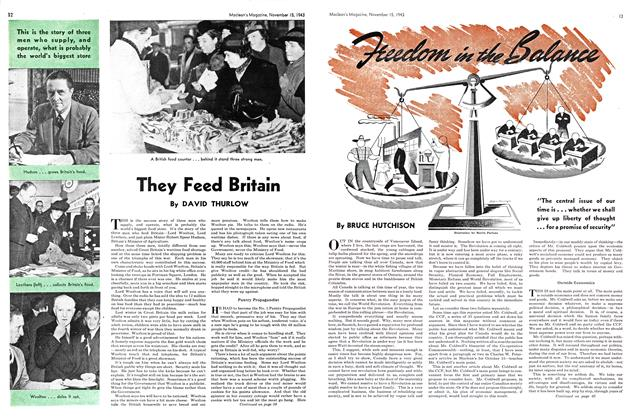 Article Preview: They Feed Britain, November 1943 | Maclean's