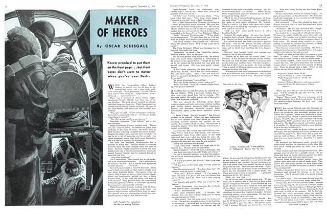 Article Preview: MAKER OF HEROES, December 1943 | Maclean's