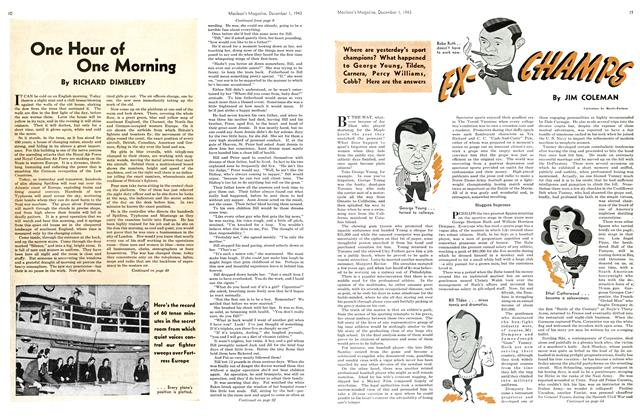 Article Preview: One Hour of One Morning, December 1943 | Maclean's