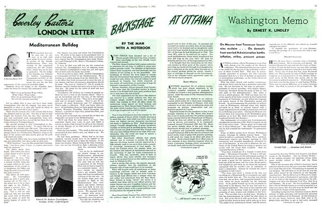 Article Preview: Beverley Baxter's LONDON LETTER, December 1943 | Maclean's