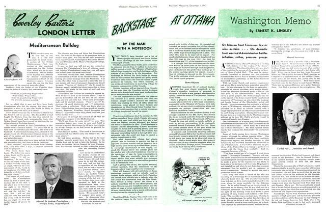 Article Preview: Washington Memo, December 1943 | Maclean's