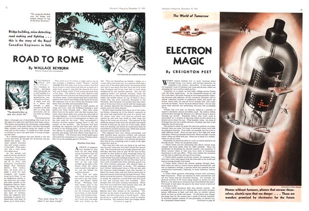 Article Preview: ELECTRON MAGIC, December 1943 | Maclean's