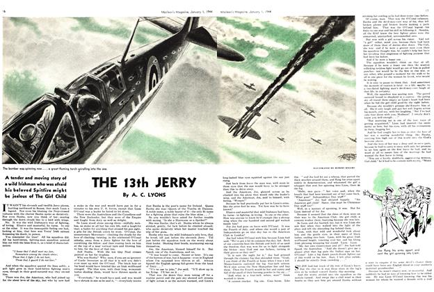 Article Preview: THE 13th JERRY, January 1944 | Maclean's