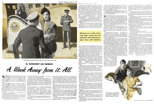 Article Preview: A Week Away from it All, January 1944 | Maclean's