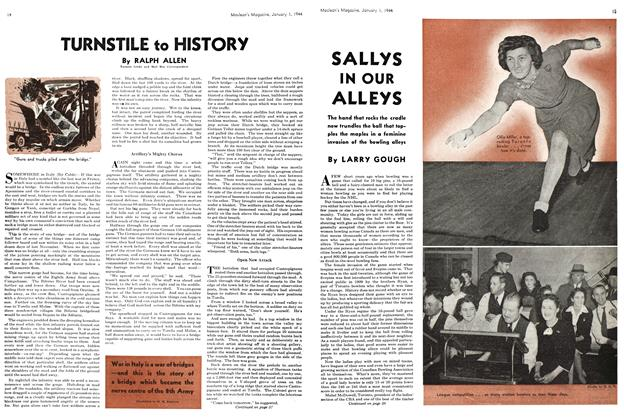 Article Preview: SALLYS IN OUR ALLEYS, January 1944 | Maclean's