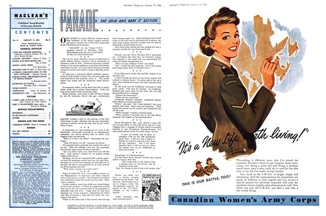 Article Preview: PARADE, January 1944 | Maclean's