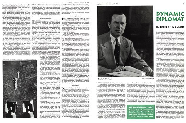 Article Preview: DYNAMIC DIPLOMAT, January 1944 | Maclean's