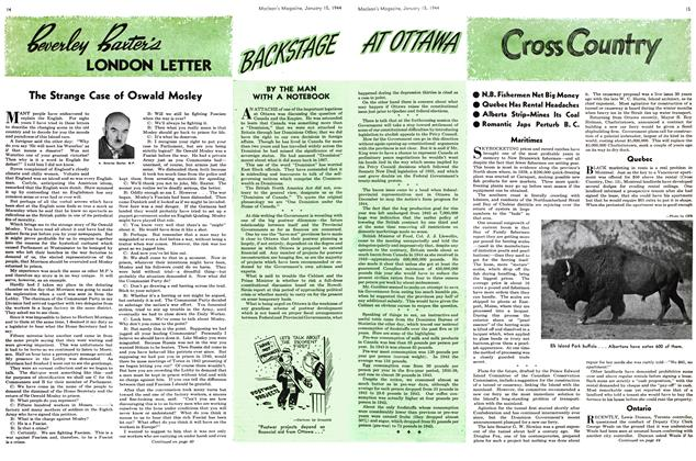 Article Preview: Cross Country, January 1944 | Maclean's