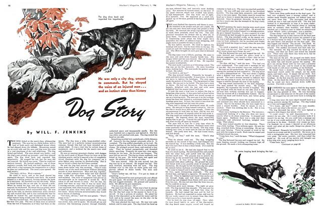 Article Preview: Dog Story, February 1944 | Maclean's