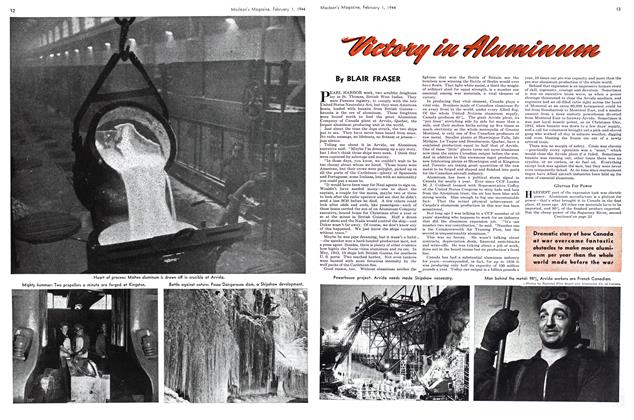 Article Preview: Victory in Aluminum, February 1944 | Maclean's