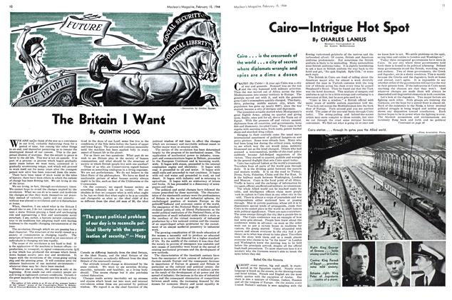 Article Preview: The Britain I Want, February 1944 | Maclean's
