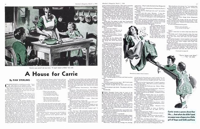 Article Preview: A House for Carrie, March 1944 | Maclean's