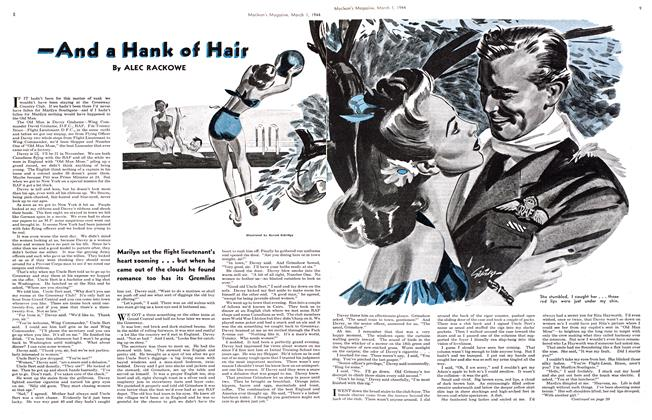 Article Preview: —And a Hank of Hair, March 1944 | Maclean's