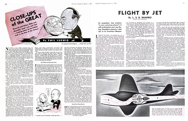 Article Preview: FLIGHT BY JET, March 1944 | Maclean's
