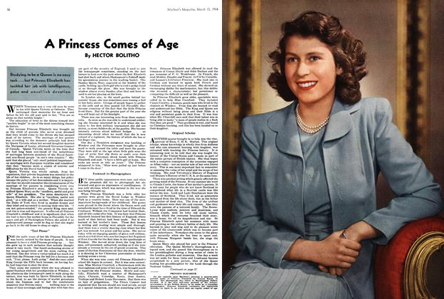 Article Preview: A Princess Comes of Age, March 1944 | Maclean's