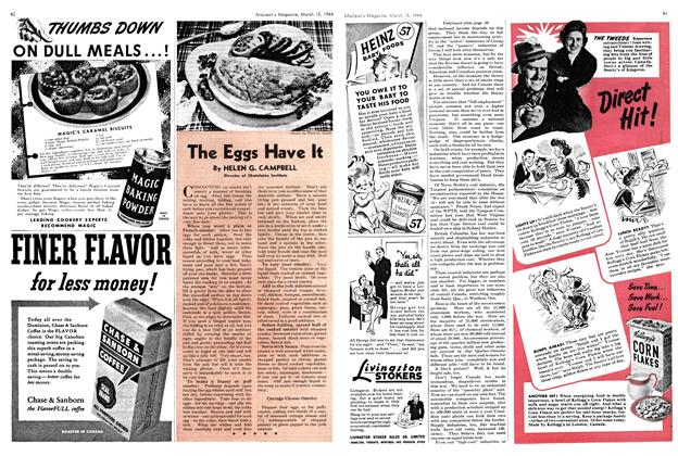 Article Preview: The Eggs Have It, March 1944 | Maclean's
