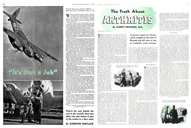 Article Preview: The Truth About ARTHRITIS, March 1944 | Maclean's