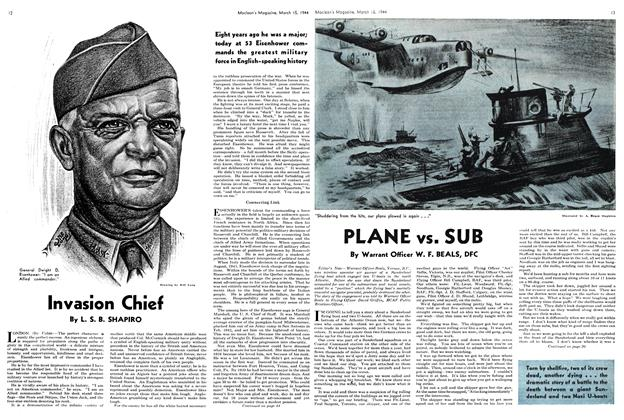 Article Preview: Invasion Chief, March 1944 | Maclean's