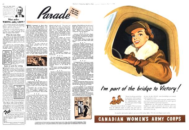 Article Preview: Parade, April 1944 | Maclean's