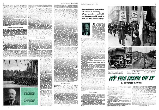 Article Preview: IT'S THE IRISH OF IT, April 1944 | Maclean's