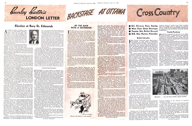 Article Preview: Cross Country, April 1944 | Maclean's