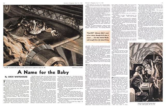 Article Preview: A Name for the Baby, April 1944 | Maclean's