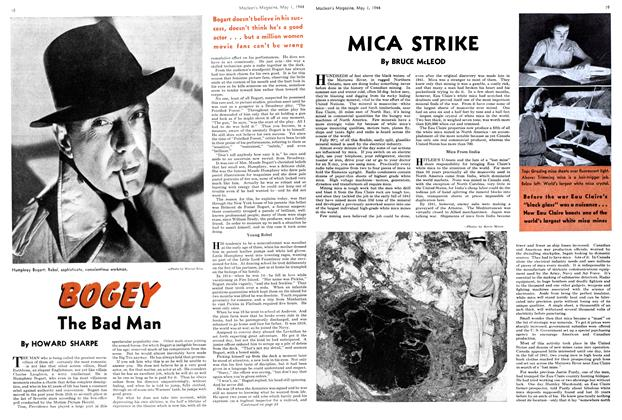 Article Preview: BOGEY The Bad Man, May 1944 | Maclean's