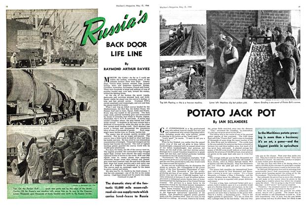 Article Preview: POTATO JACK POT, May 1944 | Maclean's