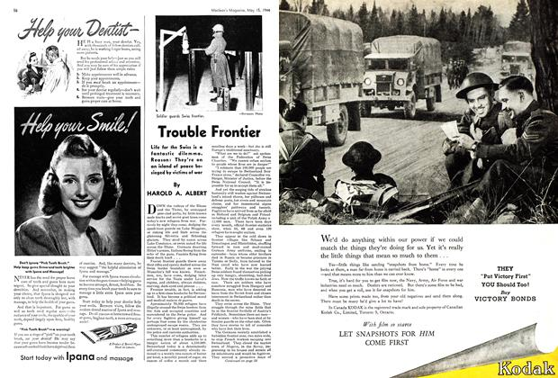 Article Preview: Trouble Frontier, May 1944 | Maclean's